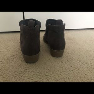 Brown DV booties